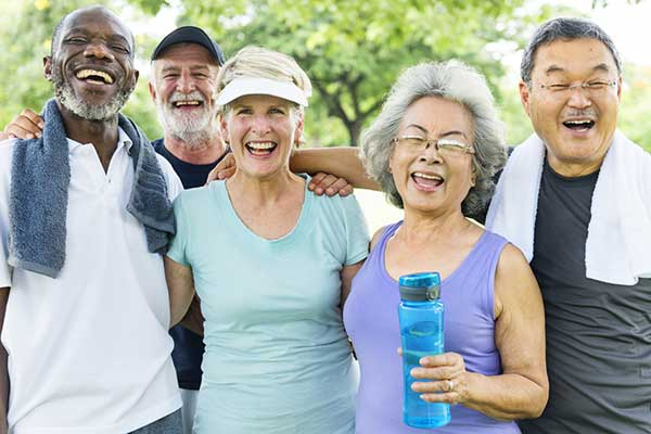 Group of active seniors - Types of Supplemental Health Insurance Policies